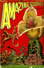 La Flor Maligna. By Anthos. Amazing Stories, 1927