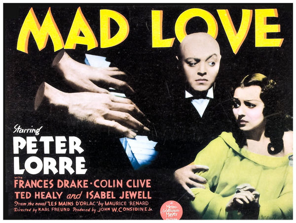 Mad Love: Las manos de Orlac