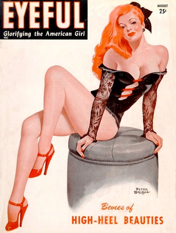Peter Driben Pin Up Cover Magazine