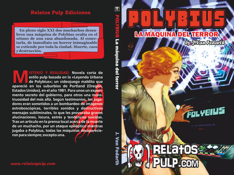 Polybius Novela Libro Novel Book