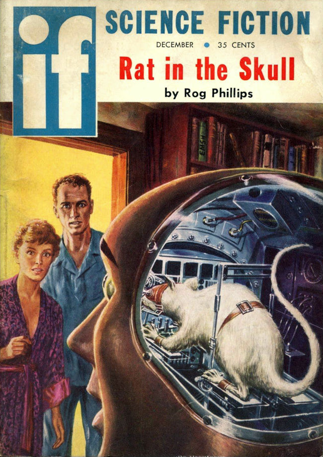 La rata en la calavera. Rog Phillips (Rat In The Skull)