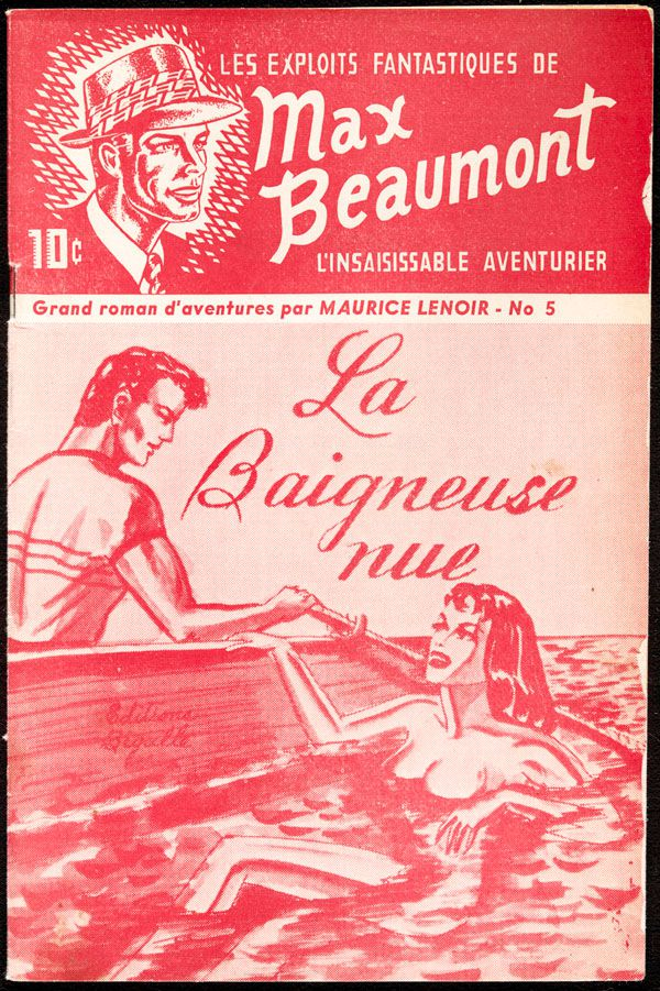 Canadian Pulp Magazines | French Magazines